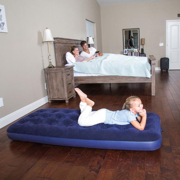 67000 185 * 76 * 22 cm Akın Hava Yatağı Hava Yatağı Kamp Mat Elektrikli Yatak Ile Şişme Yatak Kamp Yatak Plaj mat