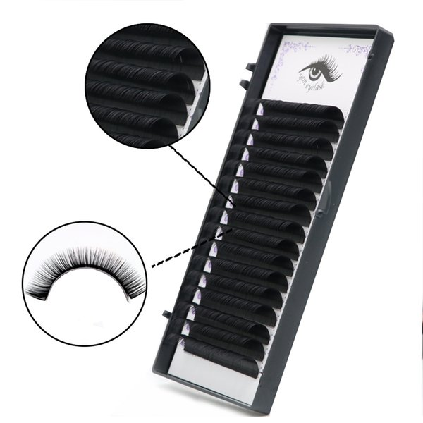 Individual Eyelash Extensions Eyelashes,volume Lash Extensions,soft Lashes,silk False Eyelashes For Makeup Cilios