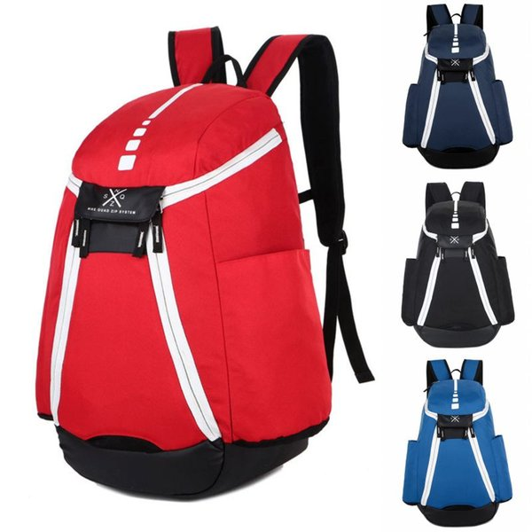 best selling Brand New Mens Designer Backpack Men Women Designer Bags Teenager Blue Red Outdoor Basketball Backpack 4 Colour