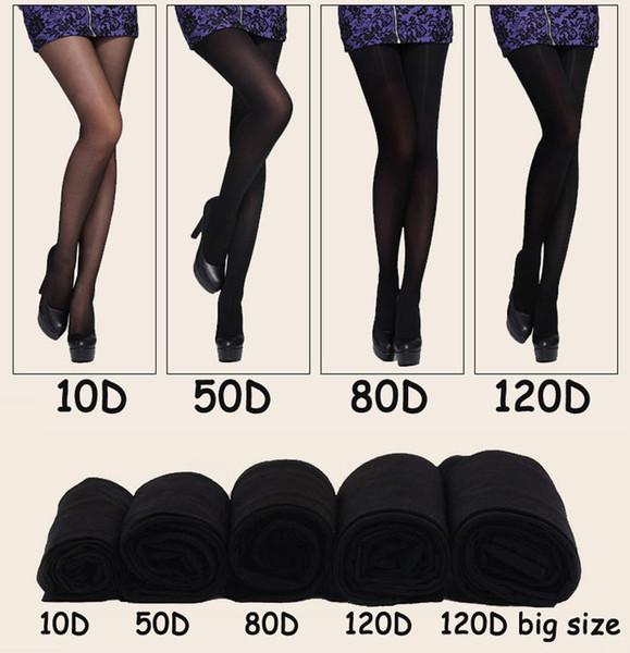 120D Kalite Marka Kadınlar Elastik Sıska Külotlu Bahar Sonbahar Rahat Seksi Ince Tayt Uzun Çorap Siyah Cilt 1277