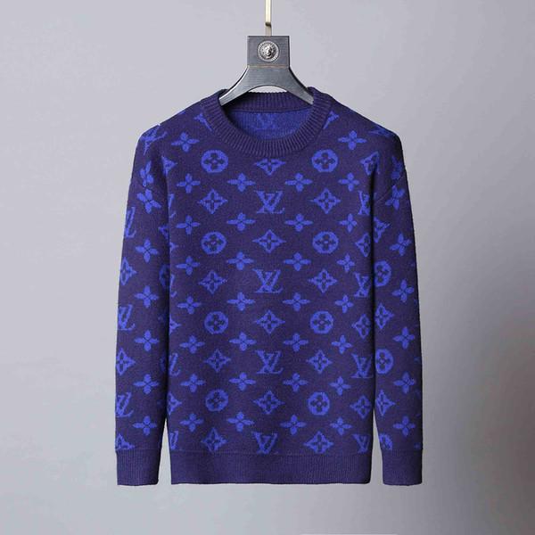 Nuovo maglione da uomo di moda uomo maglione pullover maglione da uomo serpente ricamo maglione a maniche lunghe designer felpa girocollo invernale da uomo