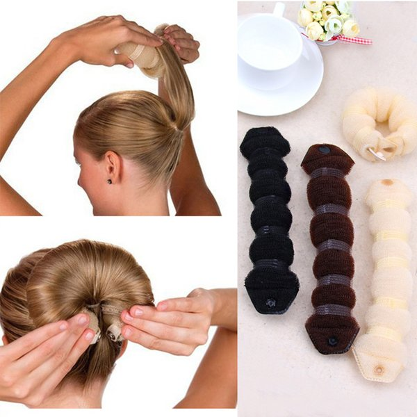 New Fashion Hair Tools Magic Quick Bun Make Hair Styling Long Headbands Women DIY Hairbands Girl Hairbands Hair Accessories