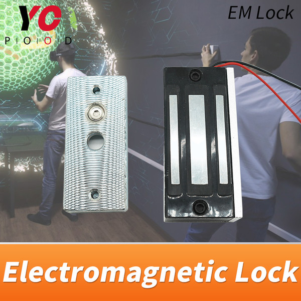 top popular 12v maglock Escape Room Spare Parts installed on the door use the electromagnetic lock to open or close the door Takagism game 2021