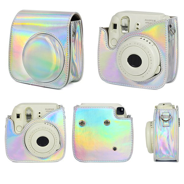 Fashion Practical PU Leather Colorful Portable With Shoulder Strap Lightweight Storage Carrying Camera Bag For Instax Mini8/9