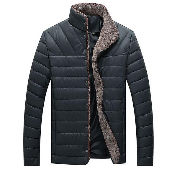 Großhandel 2019 Winterjacke Männer Warme Mantel Baumwolle Gefütterte Outwear Herren Mäntel Jacken Stehkragen Dünne Kleidung Dicke Parkas Von Armhole,