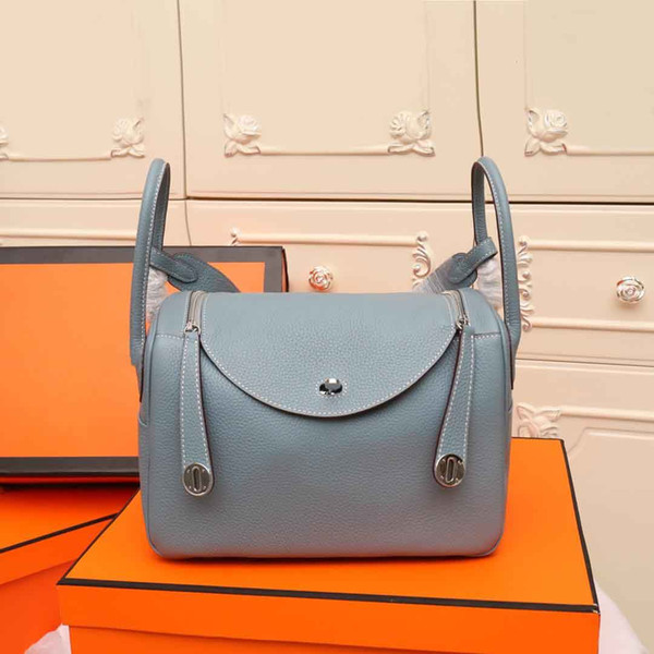 best selling classic fashion designer women handbags strap shoulder bags genuine leather black bag small purse tote shoulder bags style freeshipping 26cm