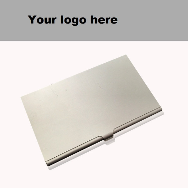 best selling Alloy Card Holder Slim Package Business Case Box ID Card Business ID Credit Card Holders