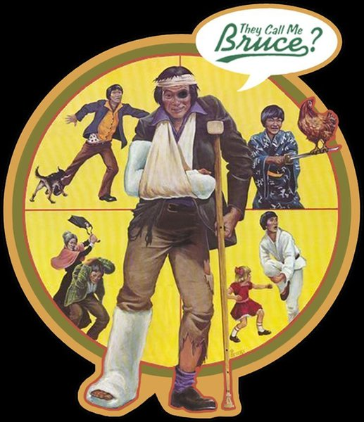 80's Comedy Classic They Call Me Bruce? Poster Art custom tee Any Size Any Color Brand shirts jeans Print