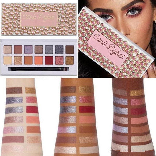 best selling New Limited Edition Eye Shadow Palette 14Colors Matte Shimmer Eyeshadow Long Lasting Eye Shadow Carli Bybel Eyeshadow Makeup New Arrival