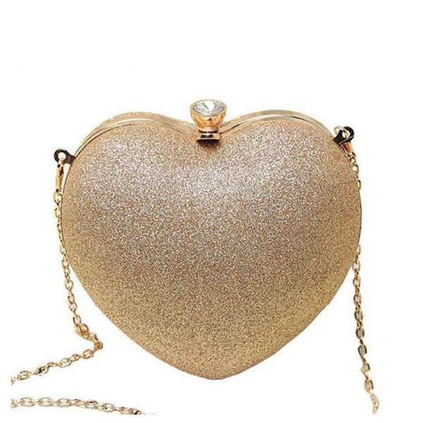 good quality Mini Women Heart Pearl Bag Fashion Evening Bag Part Time Must Have Bags Best Shoulder Bag Mobile Phone Case