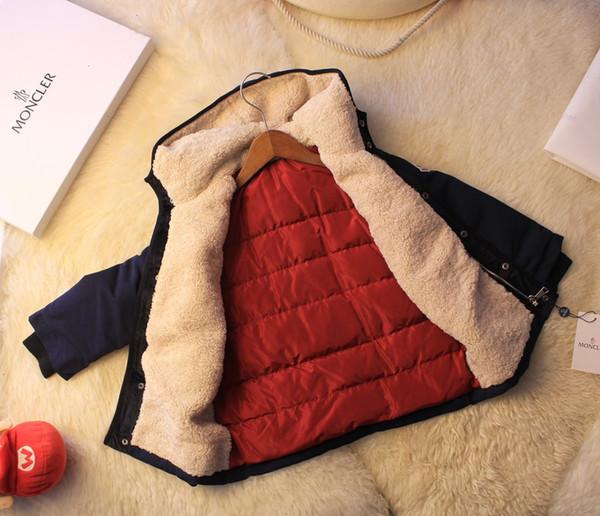 детская одежда мальчики мода мальчик пуховик высокое качество бесплатная доставка теплый лобовое стекло @191125-30