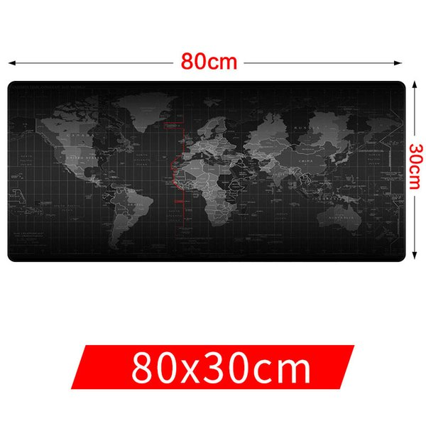 best selling Large Mouse Pad Old World Map Gaming Mousepad Anti-slip Natural Rubber Gaming Mouse Mat with Locking Edge Free Shipping