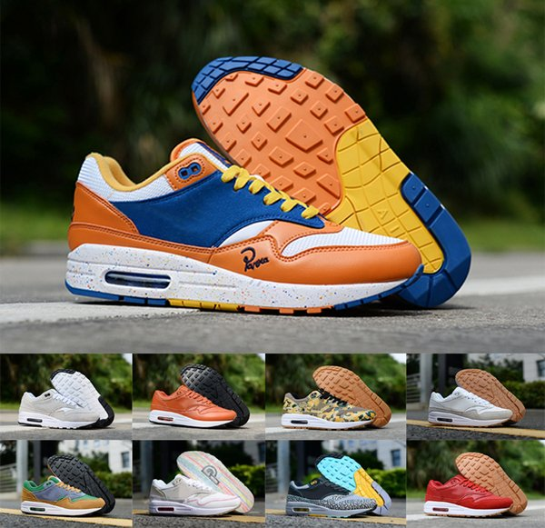 2018 High Quality Arrival 1 87 Casual Shoes Animal Pack 1s 87s Leopard gra Men Maxes Women Classic Athletic Chaussures Zapatos Trainers