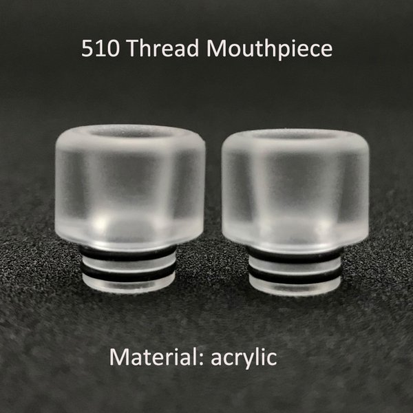 510 Drip Tip Acrylic Mouthpiece for Vape Tank Newest E-cigarette Atomizer Driptips Wholesale from China Manufacturer