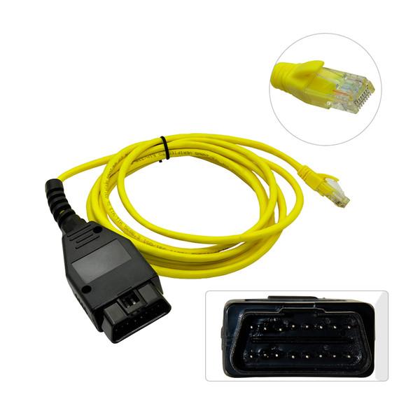Кабель ЭНЕТ ESYS для БМВ F-серии освежают скрытые данные электронной таблицы sys ICOM и кодирования Программник ECU OBD сканер OBD2 диагностический инструмент авто