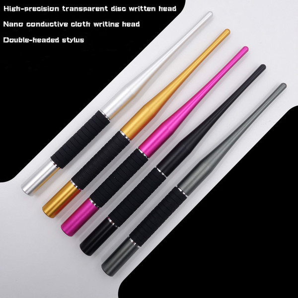 Hot sale 2 In 1 Multifunction Fine Point Round Thin Tip Touch Screen Pen Capacitive Stylus Pen for All Pad and Smart Phone