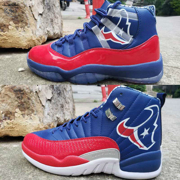 2019 New 11 11s 12 12s Mens Basketball Shoes Champion Blue Red White Bull Man Trainer Sports Designer Sneakers Size Us 7-13