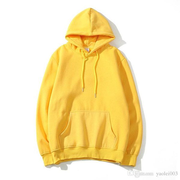 Early winter new explosion models embroidered small standard hooded plus velvet sweater for men and women