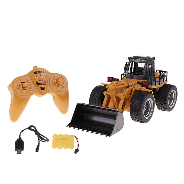 wholesale 1:18 Scale Toy Remote Control RC Construction Truck for Boys Girls