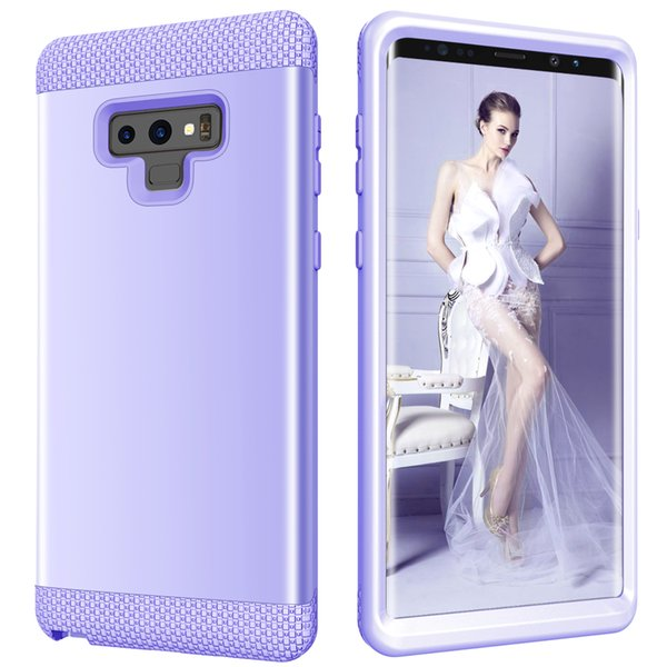 Samsung Galaxy Note9 PC + TPU 3-layer hybrid body case shockproof mobile phone case for Galaxy Note9 explosion-proof mobile phone case