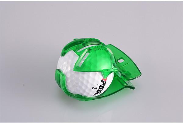 Pelota de golf Liner Line Marker Template Draw Templete Linear Mark Alignment Putting Clip Tool