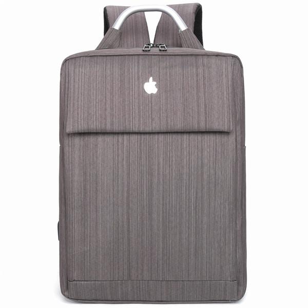 Designer de mochila laptop homens usb computador de carregamento mochilas estilo casual sacos grande roomy viagem de negócios saco mochila Transporte da gota