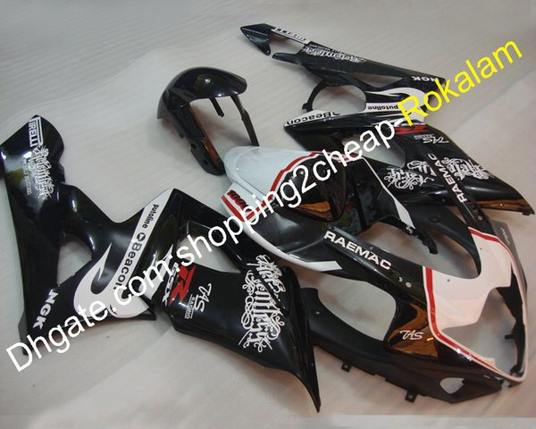 Motorbike Fit For Suzuki Fairings GSX-R1000 2005 2006 K5 GSXR1000 05 06 GSX R 1000 Customized Motorcycle Fairing Kit (Injection molding)