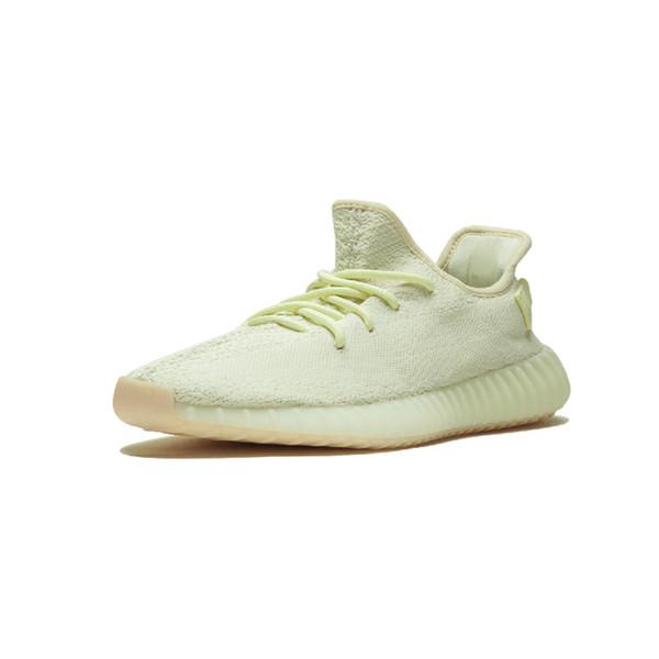 Acheter Adidas Yeezy Boost 350 V2 SPLV V2 Butter F36980 Crème Blanche Remise Kanye West Chaussures De Course Beluga Triple Blanc Zèbre Race Noir