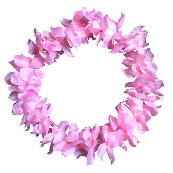 Hawaiian tropical collares de flores collar Beach guirnalda para el vestido de lujo del partido Lote