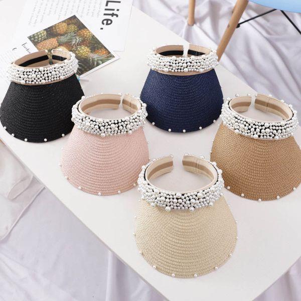 Ins handwork pérola crianças chapéus doce crianças chapéus de grife meninas chapéus meninas chapéu de beisebol mamãe e filha combinando roupas chapéu A6088