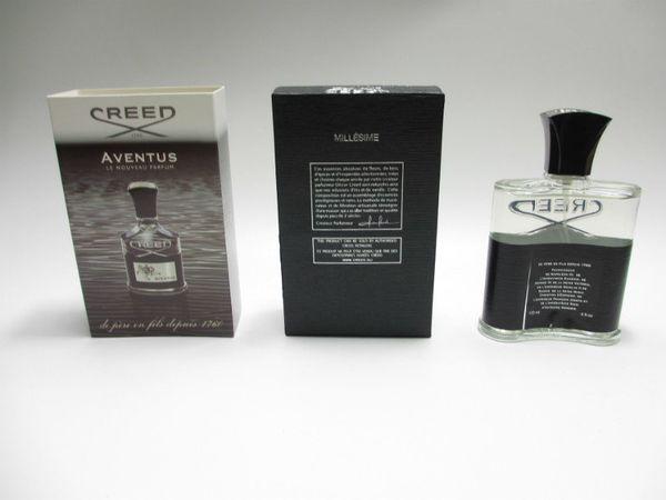 Erkekler için parfüm 120 ml Parfüm Tütsü Kokusu Kokusu Doğal Siyah Creed Köln Noel Hediyesi için Parfüm