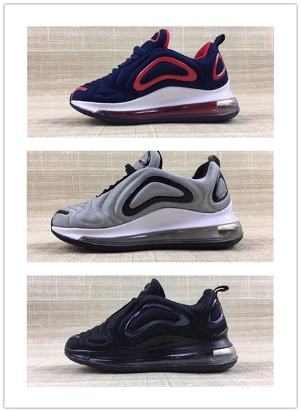 Hot New 720 Kids Baby Running Shoes Boys Girls 72C Black White Red Blue Sports Air Sneakers Designer Shoes Size 28-35