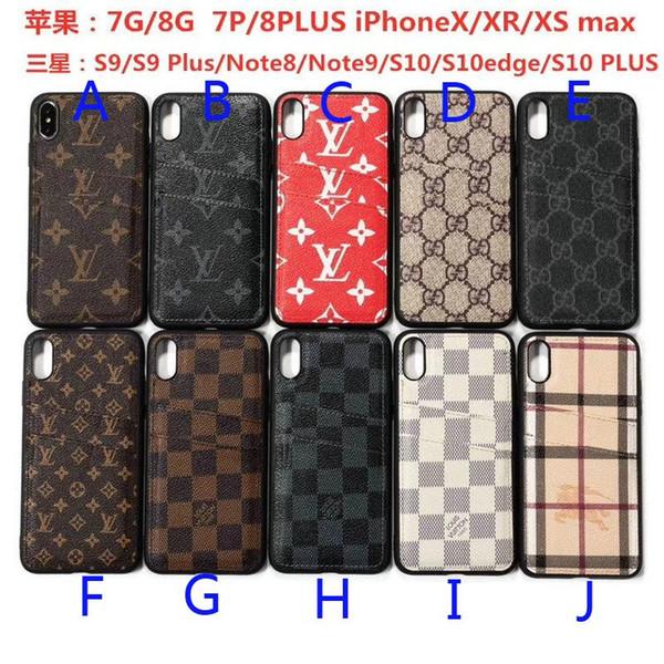 Дизайн карты чехол для телефона iPhone 6 6plus 7 7plus 8 8plus X XR xs max brown для Samsung S9 S9p Note8 Note9 S10 S10 plus s10edge чехол для телефона