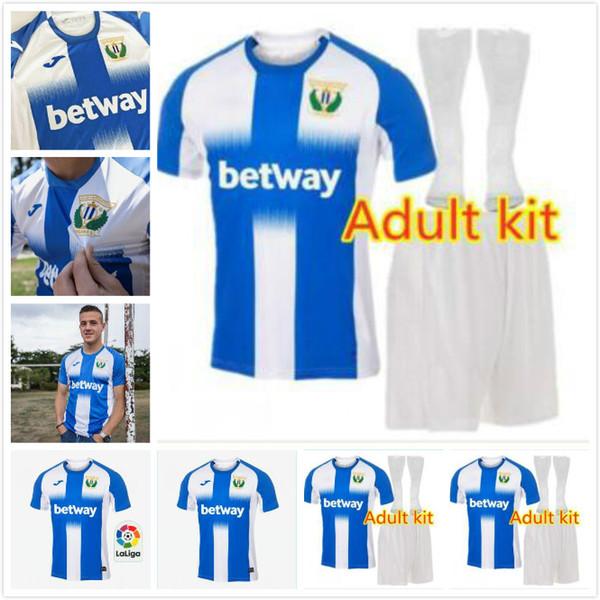 adulto KIT 2019 2020 Leganes maglia da calcio CD spagna maglia da calcio J. SILVA ROLAN DANI OJEDA CARRILLO El Zhar Camiseta de fútbol casa blu