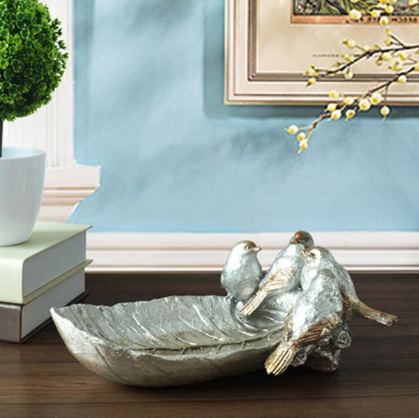 2019 Retro Birds Statue Animal Ashtray Resin Craftwork Home Decoration  Accessories For Living Room From Dong1222, $53.26 | DHgate.Com