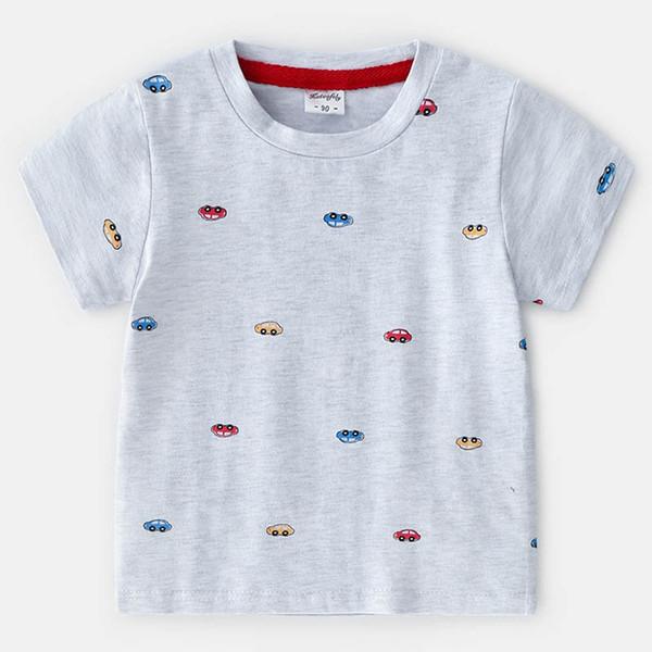 detailed look c141b d253f Großhandel Cartoon Kinder Sommer Kleidung Jungen T Shirts Baumwolle Kinder  Kurzarm T Shirt Kinder T Shirt Günstige Shirts Jungen Kleidung Kinder ...