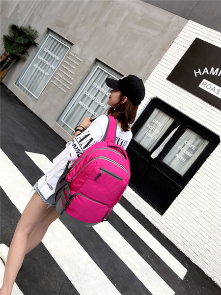 top popular Teenager School Bag Students Backpack Casual Hiking Camping Backpacks Waterproof Unisex Travel Outdoor Bags Multi Pockets Fast Shipping 2021
