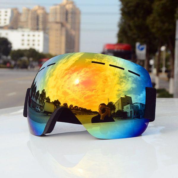 Ski Goggles Double Layers UV400 anti-fog Big Ski Mask Glasses Skiing Unisex Snow Snowboard Goggles