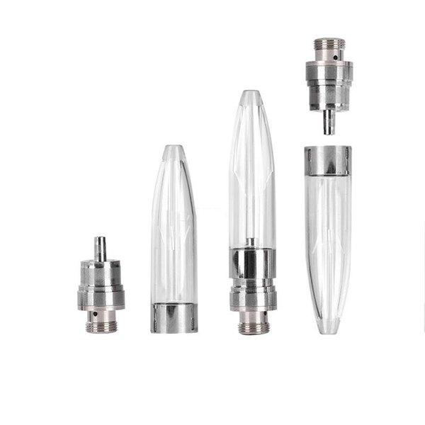 Innovativo design Bullet C11. 5ml cartuccia di ceramica vape Estratto penna vaporizzatore olio 510 serbatoio filo con punta in plastica 5 * 1.0mm buco olio