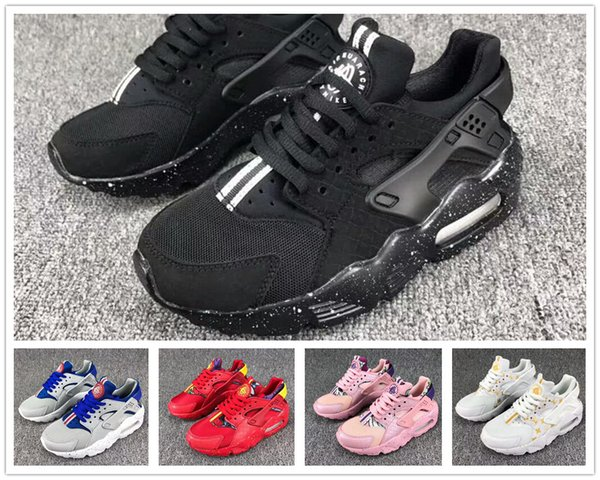 mejores zapatillas de deporte bd93c dd5b1 2019 New 2018 Air Huarache Running Shoes Flash Light Huaraches Kids Infant  Boys Children Sports Shoe Tennis Huarache Drift Trainers Kid Sneakers From  ...
