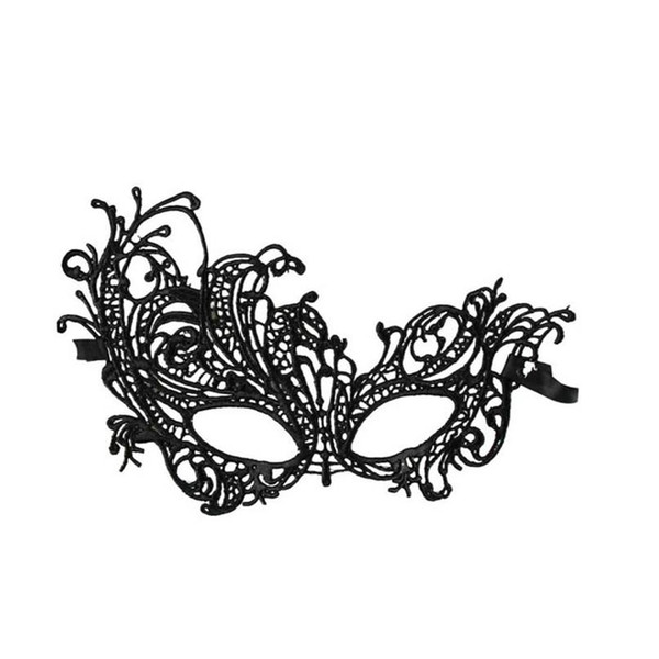 Wholesale- Home Wider Hot Selling Free shipping New Design 1PC Sexy Lace Eye Mask Venetian Masquerade Ball Party Fancy Dress Costume Dec13