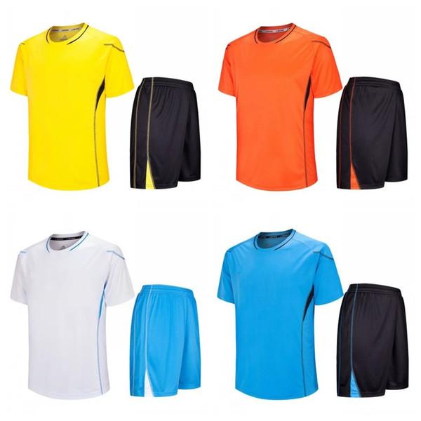 Primavera Adulto Escola Praticando Uniforme Placa Luz Compra de Futebol Roupas de Esportes Terno Tamanho Mix Para Homens Populares 30ssH1
