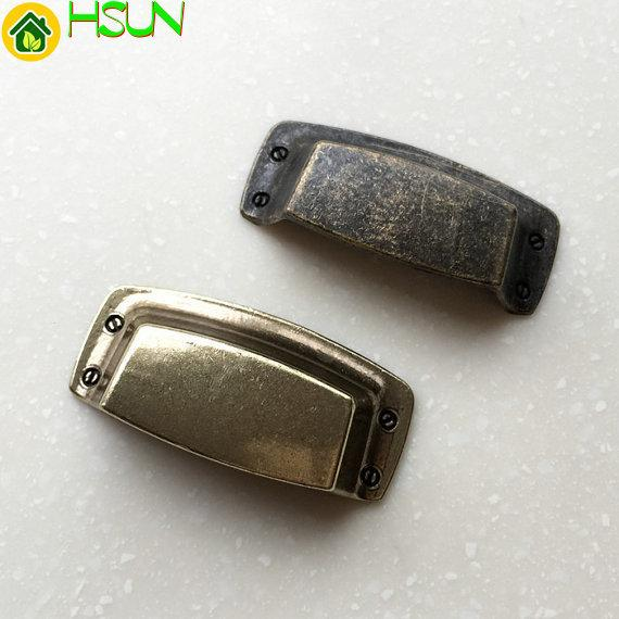 Cassetto estraibile Cassetto Tira a Coppa Maniglie Manopole Rustico Bronzo antico Maniglie Mobili retrò Cucina Armadio Maniglione Hardware