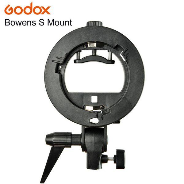 holder monitor PRO Godox S-Type Bracket Bowens S Mount Holder for Speedlite Flash Snoot Softbox Beauty Dish Honeycomb