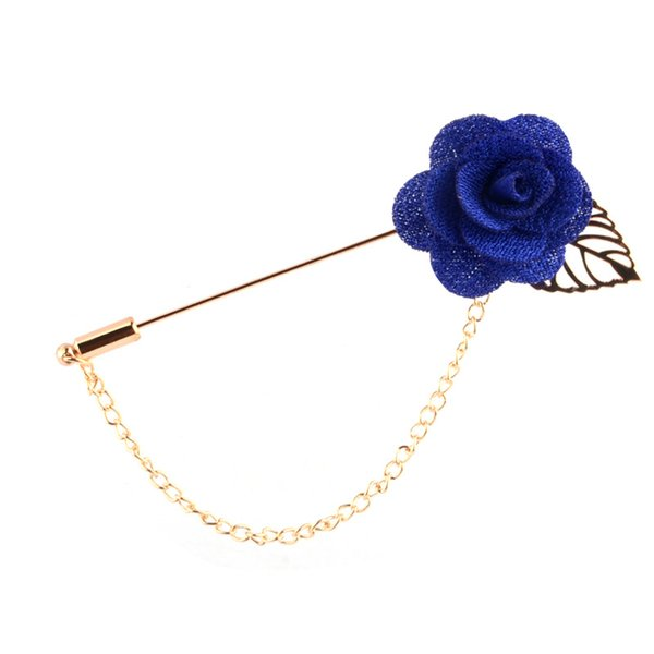 Flannel rose flower brooch Korean version of Dongdaemun fashion hundred matching clothes