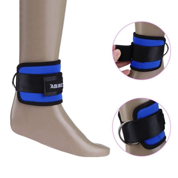 1pc Fitness Adjustable D Ring Ankle Strap Foot Support Ankle Protector Gym Leg Pulley Feet Guard Sports Safety #179954
