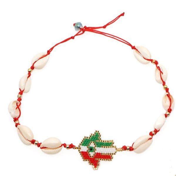 JOYE New Fashion Natural Cowrie Shell Necklace Handmade MIYUKI Adjustable Boho Hawaii Sea Beach Choker for Women Girls Jewelry