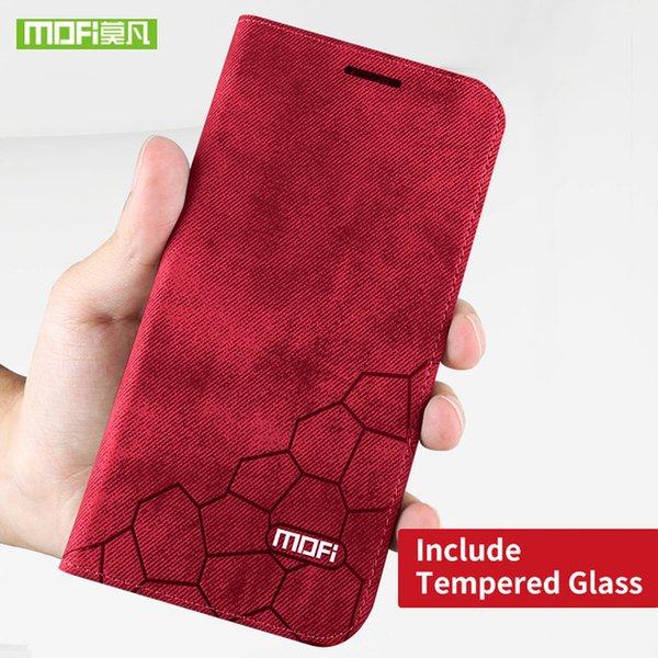 caixa vermelha e vidro