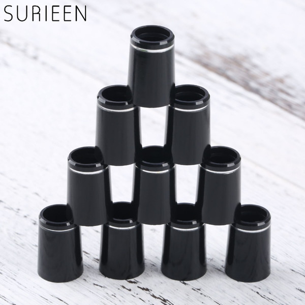 Club Heads 10pcs Plastic Golf Ferrules With Single Ring Fit 0.335 Or 0.370 Tips Irons Shaft Golf Shaft Sleeve Adapter Replacement 16mm 19mm