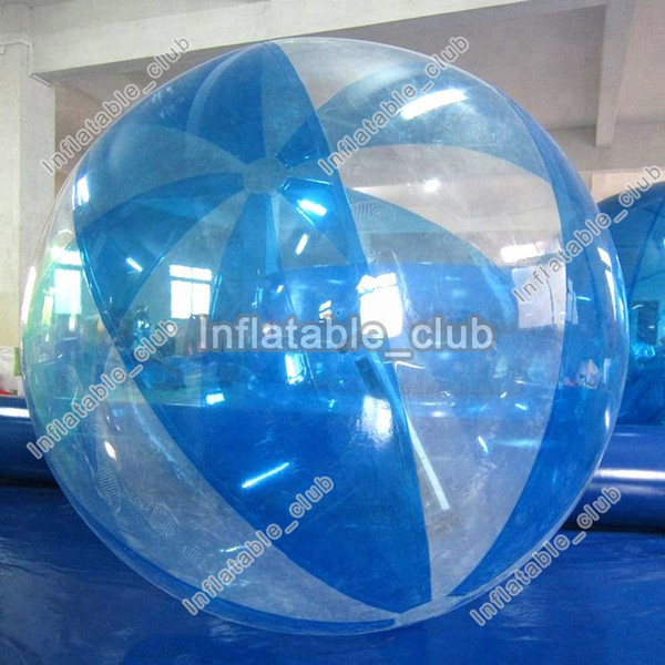 Hot sale inflatable bubble water ball dia 2m water walking ball for pool games human size water roller ball cheap